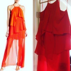 Orange Adelyn Rae Orange Dress Large